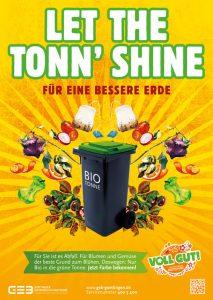 Amaretis Agentur für Kommunikation Werbeagentur Göttingen Blog Bioabfall-Kampagne Göttinger Entsorgungsbetriebe GEB Plakat Let the Tonn Shine