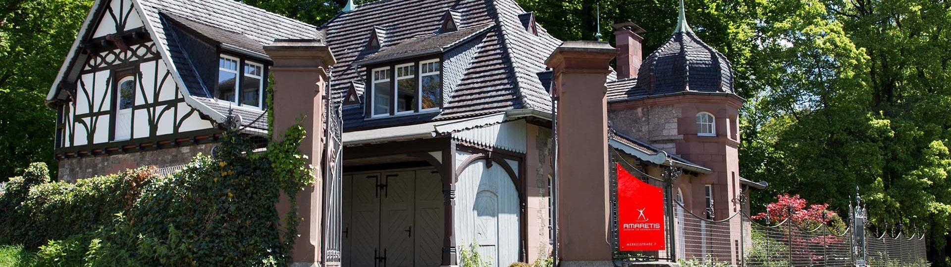 AMARETIS Agentur für Kommunikation Werbeagentur Göttingen Kutscherhaus Göttingen