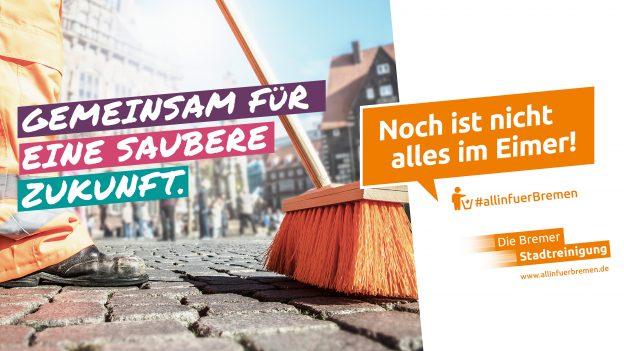 AMARETIS Agentur für Kommunikation Werbeagentur Die Bremer Stadtreinigung Noch ist nicht alles im Eimer