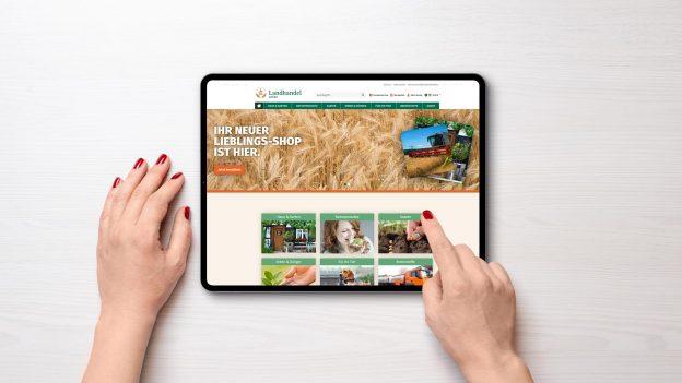 AMARETIS Agentur für Kommunikation Werbeagentur Göttingen Web-Entwicklung Online-Shop Landhandel